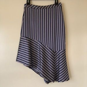 Banana Republic Asymmetrical Hem Skirt